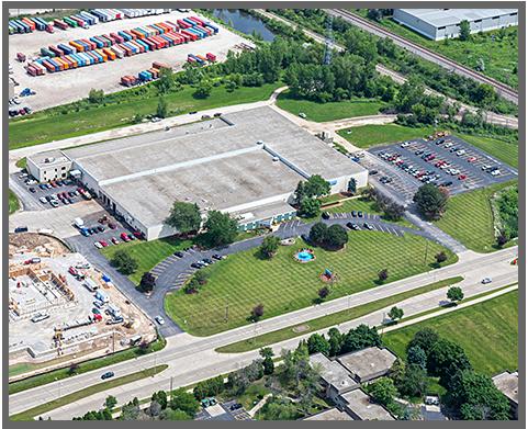 Aerial Shot of Superior Die Corporation