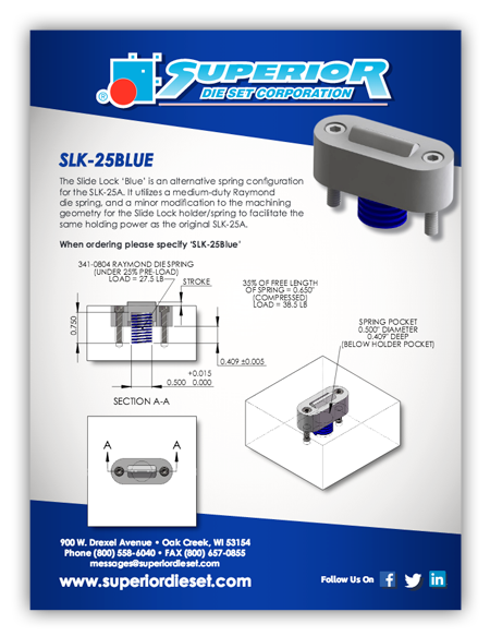 Slide Lock Brochure